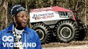 2 Chainz Rides in the Most Expensivest ATV | Most Expensivest | GQ & VICELAND