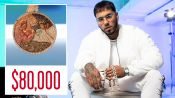 Anuel AA Shows Off His Insane Jewelry Collection