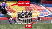 Can an Average Guy Score a Free Kick on a Professional Goalkeeper?