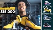 Collin Sexton Shows Off His Favorite Sneakers, From Most Expensive to Rarest