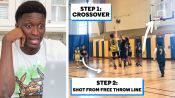NBA Star Victor Oladipo Reviews Amateur Basketball Players' Tapes