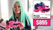 Mulatto Shows Off Her Sneaker Collection