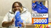 Sech Shows Off His Air Jordan Sneaker Collection