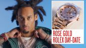 Robby Anderson Shows Off His Insane Jewelry Collection