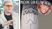 Pete Davidson & MGK Tattoo Artist Snuffy Breaks Down His Top Celeb Tattoos