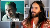 Jared Leto Breaks Down His Most Iconic Characters