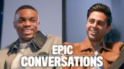 Hasan Minhaj and Vince Staples Have an Epic Conversation