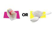 Artificial Sweetener vs. Real Sugar