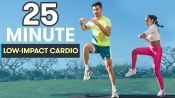 25-Minute Low-Impact, High-Intensity Cardio Workout