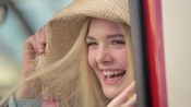Elle Fanning Talks About What It's Like Working with Angelina Jolie on 'Maleficent'