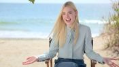 Summer Fun with Elle Fanning on the Set of Her Cover Shoot