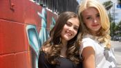 Peyton List and Her Bestie Kaylyn Hang out at the Star's Home in Sunny L.A.