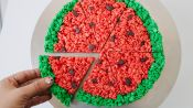 How to Make Watermelon Rice Krispies