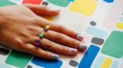 How to Do Paint Splatter Nails