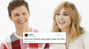 Ansel Elgort & Suki Waterhouse Compete in a Compliment Battle