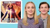Sophie Turner and Tye Sheridan Review Dark Phoenix Memes