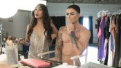 Gia Gunn Gives Kyle Krieger a Drag Makeover