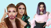 Trinity Taylor Gives Nico Tortorella a Drag Makeover