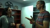 Backstage with Sarah Silverman and Andy Borowitz