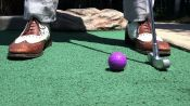 High Jinks on the Mini-Golf Course