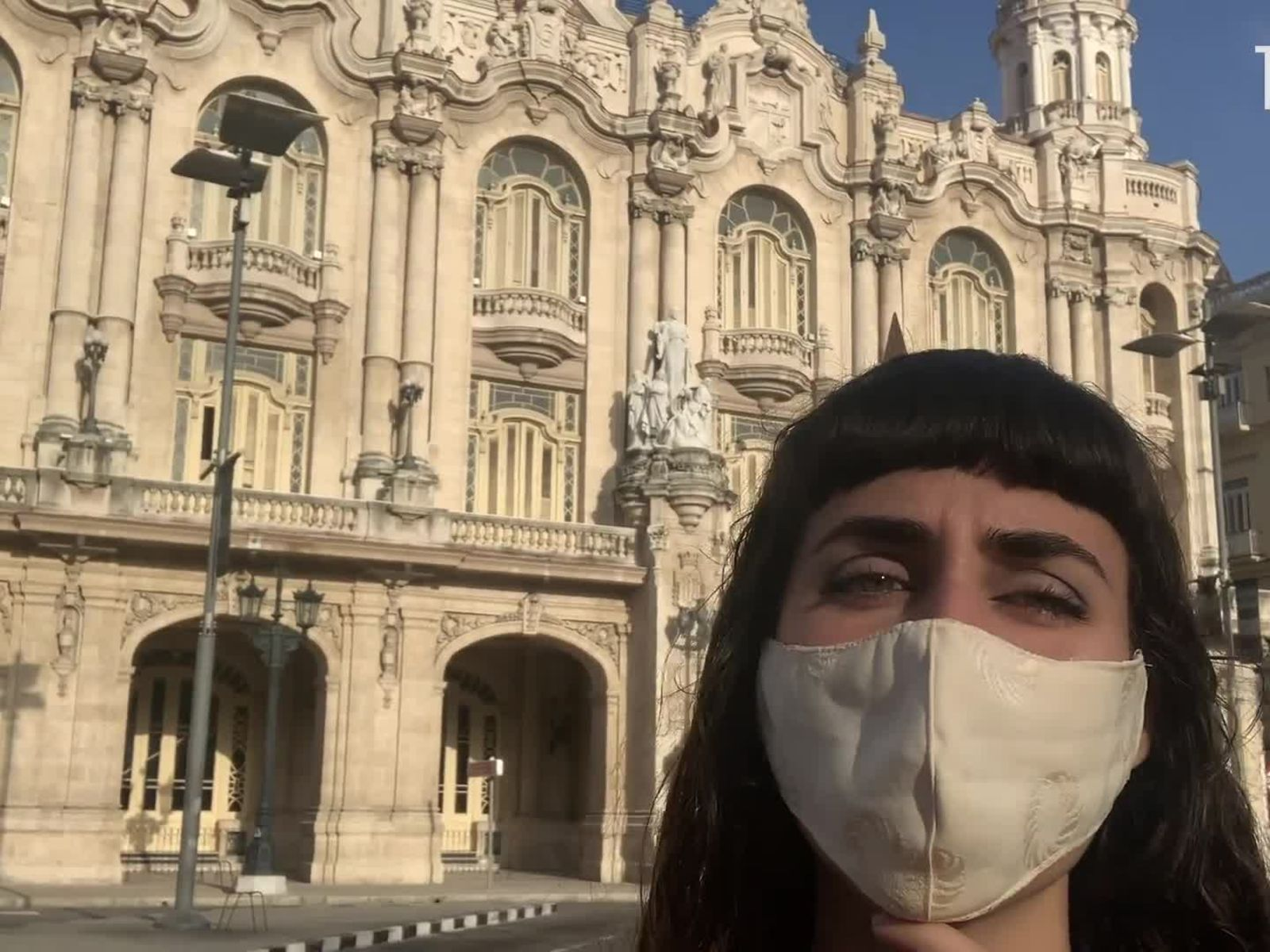 Walking Around in Cuba