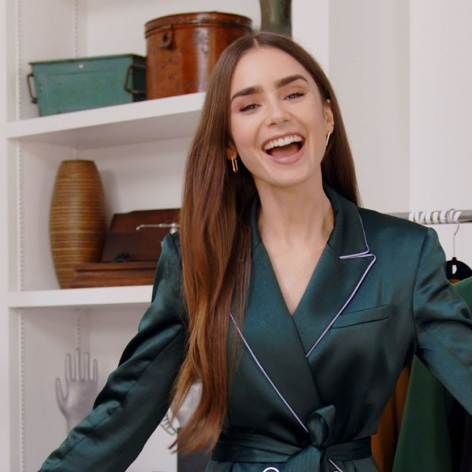 Lily Collins: Inside The Wardrobe | Episode 14 | British Vogue