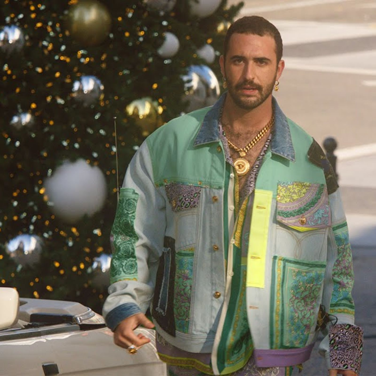 All For You: A Very Versace Christmas Story With Jordan Firstman   British Vogue & Versace