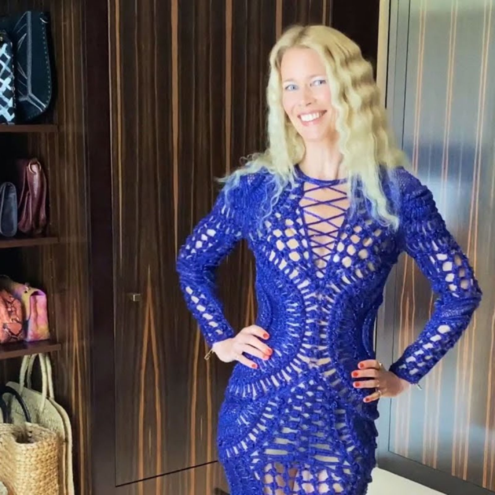 Claudia Schiffer: Inside The Wardrobe