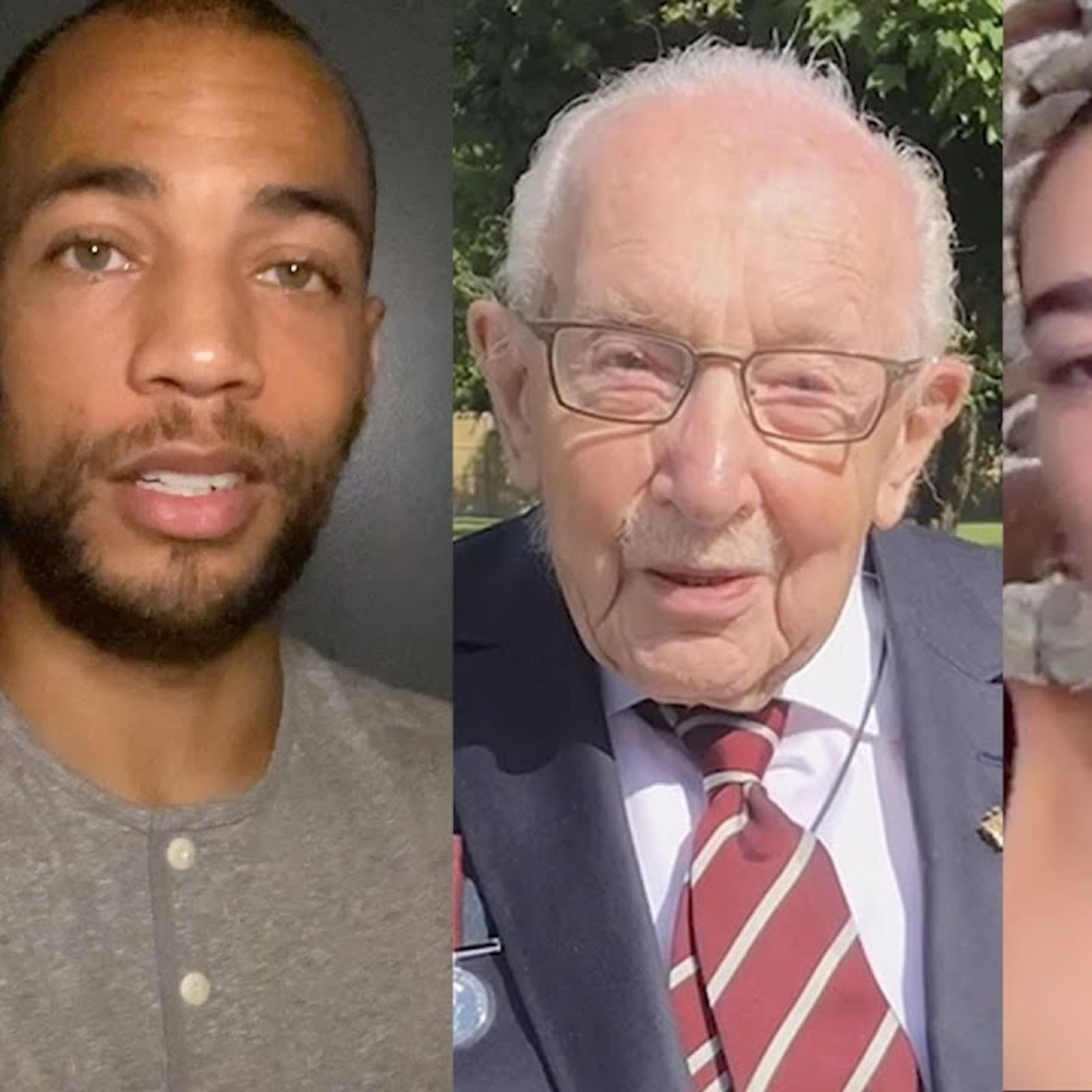 This Is What Dua Lipa, Kendrick Sampson & Captain Tom Are Hopeful For