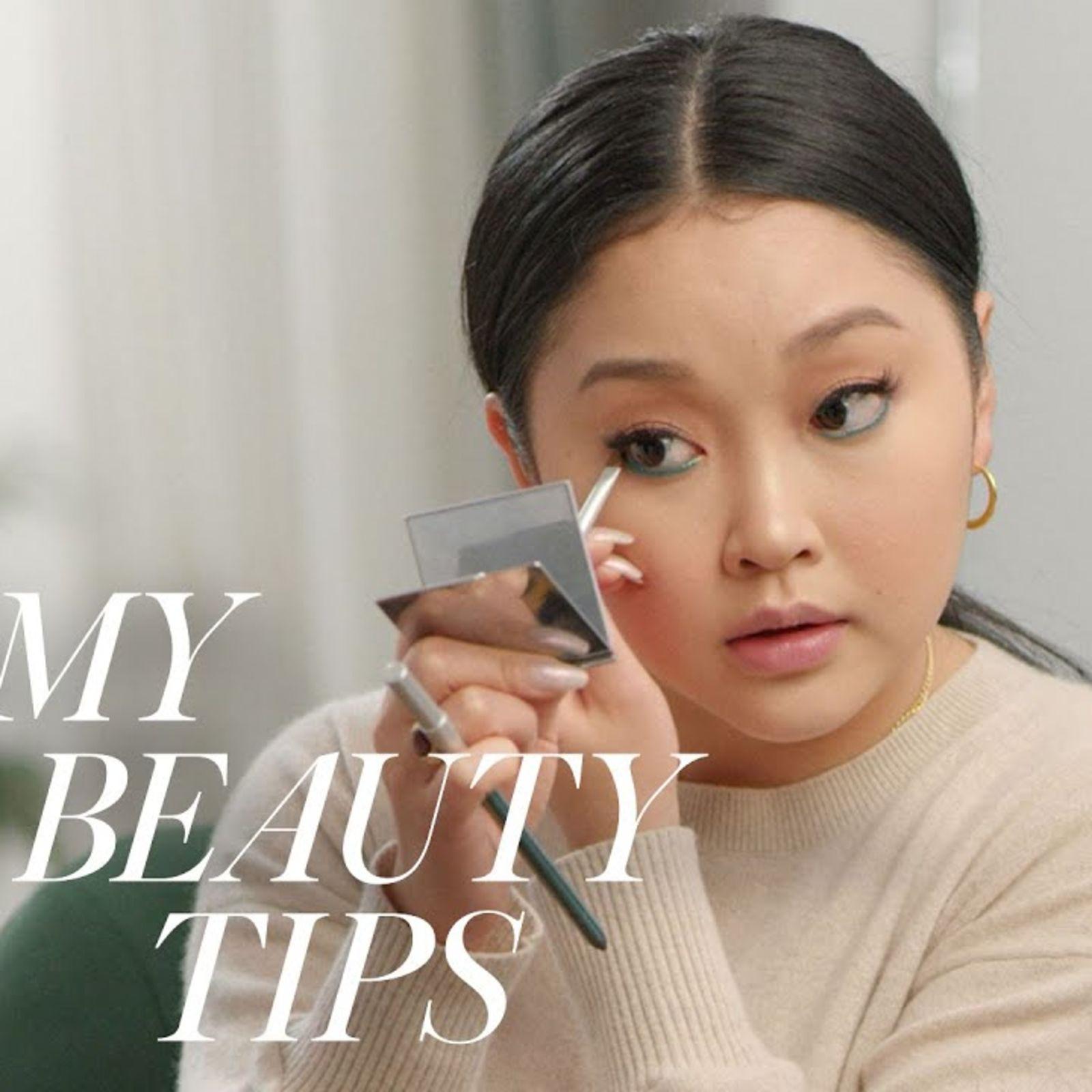 Lana Condor's Guide To Bold Emerald Eye Make-Up