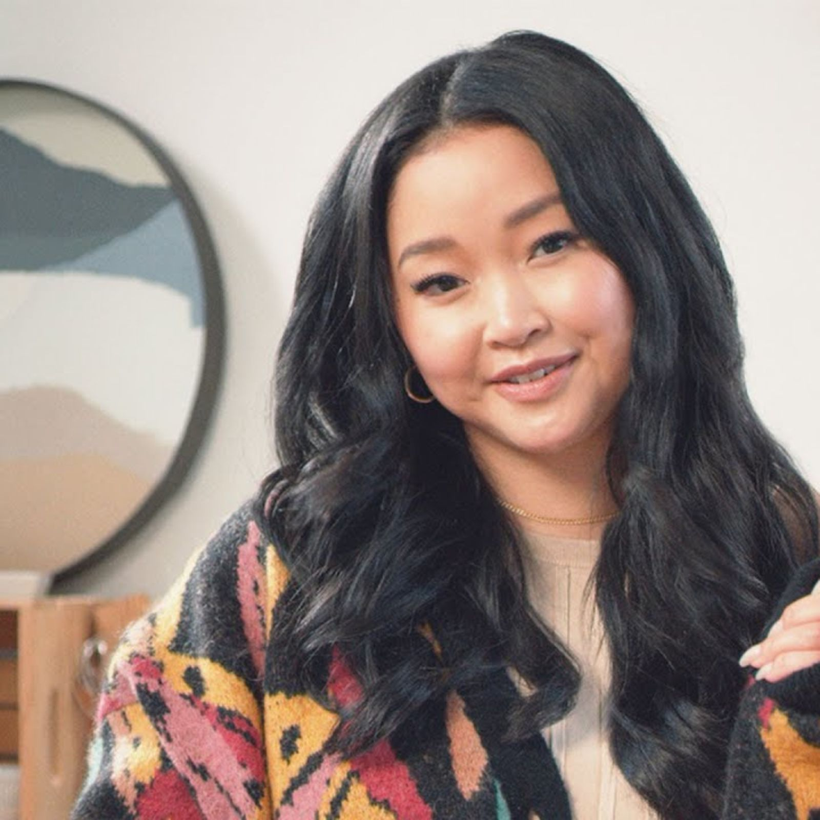 Actor Lana Condor Makes Potato Eye-Patches With Her Dad | Family Secrets