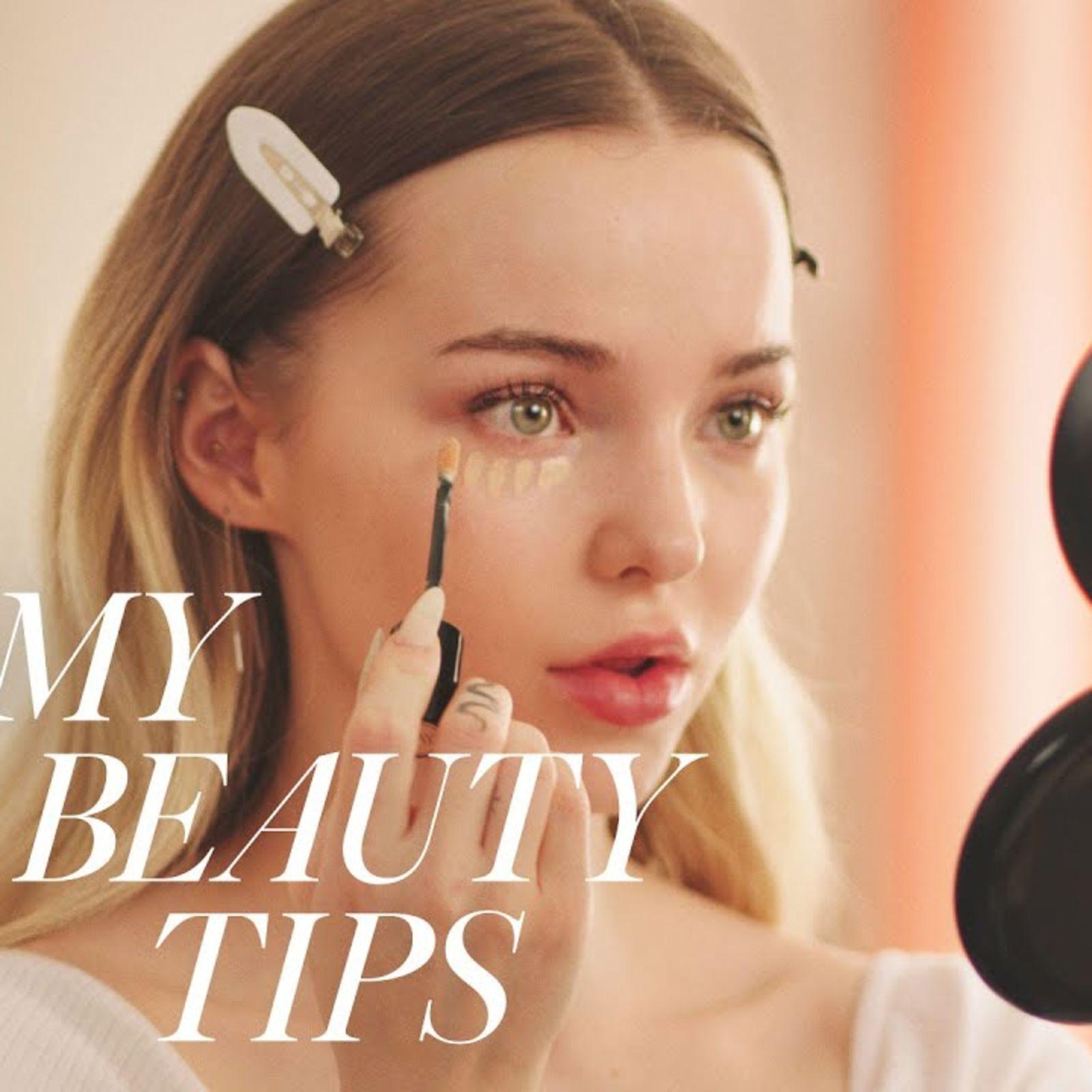Dove Cameron's Romantic Day-To-Night Look | My Beauty Tips