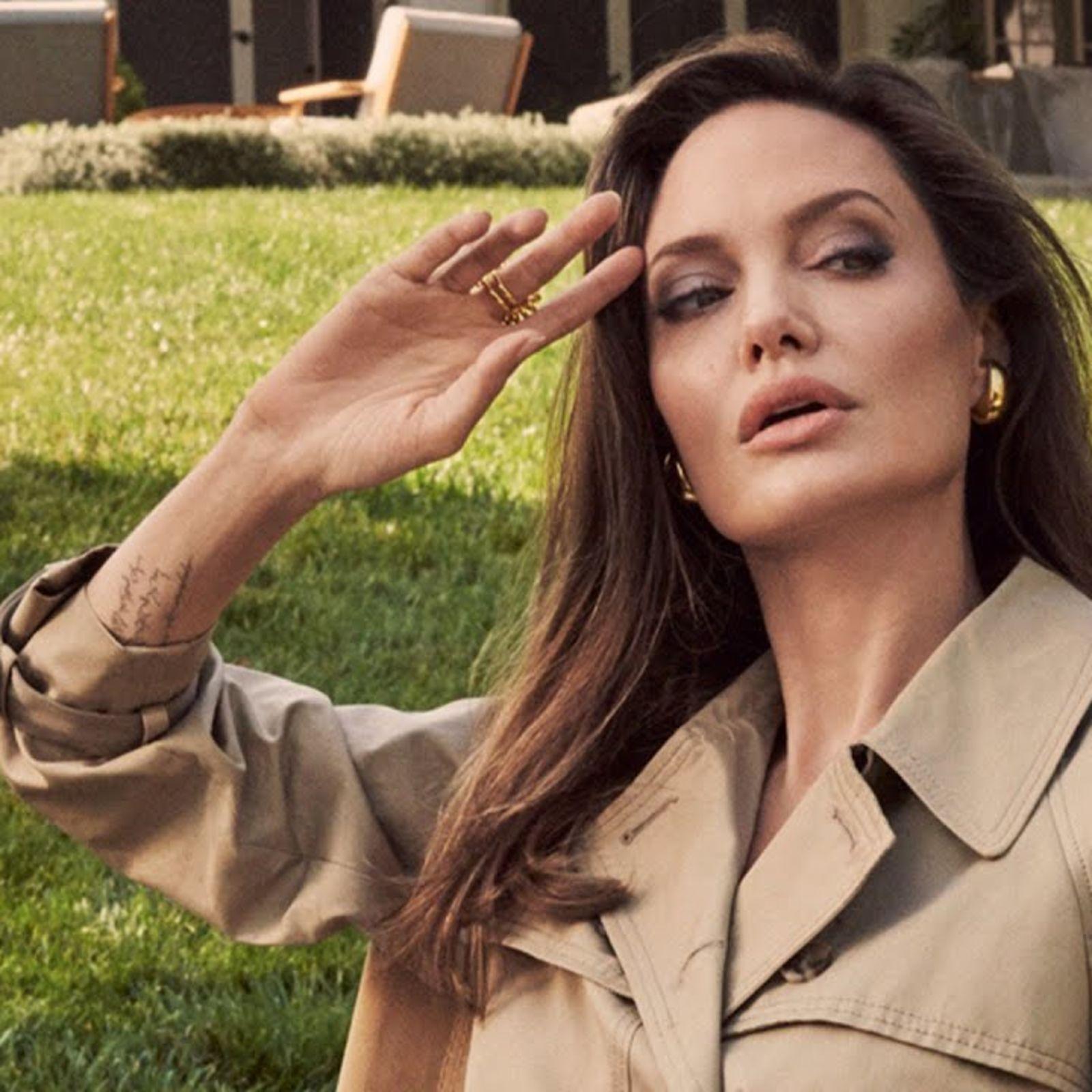 Inside Angelina Jolie's Hollywood Garden