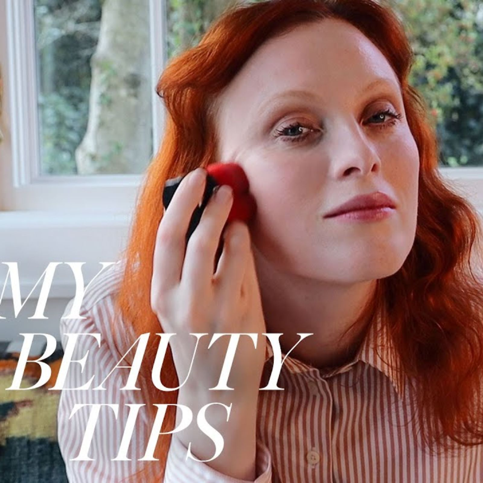 Karen Elson's Guide To Working-From-Home Makeup| My Beauty Tips
