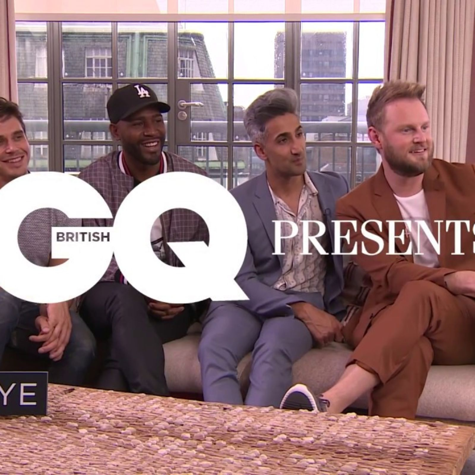 Jack Guinness quizzes the cast of Queer Eye