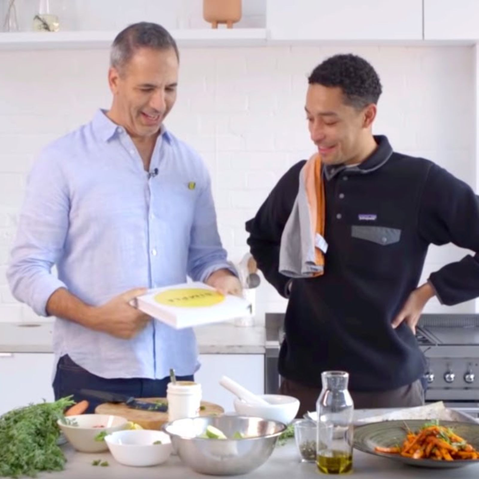 Loyle Carner and Ottolenghi cook delicious dishes for Christmas