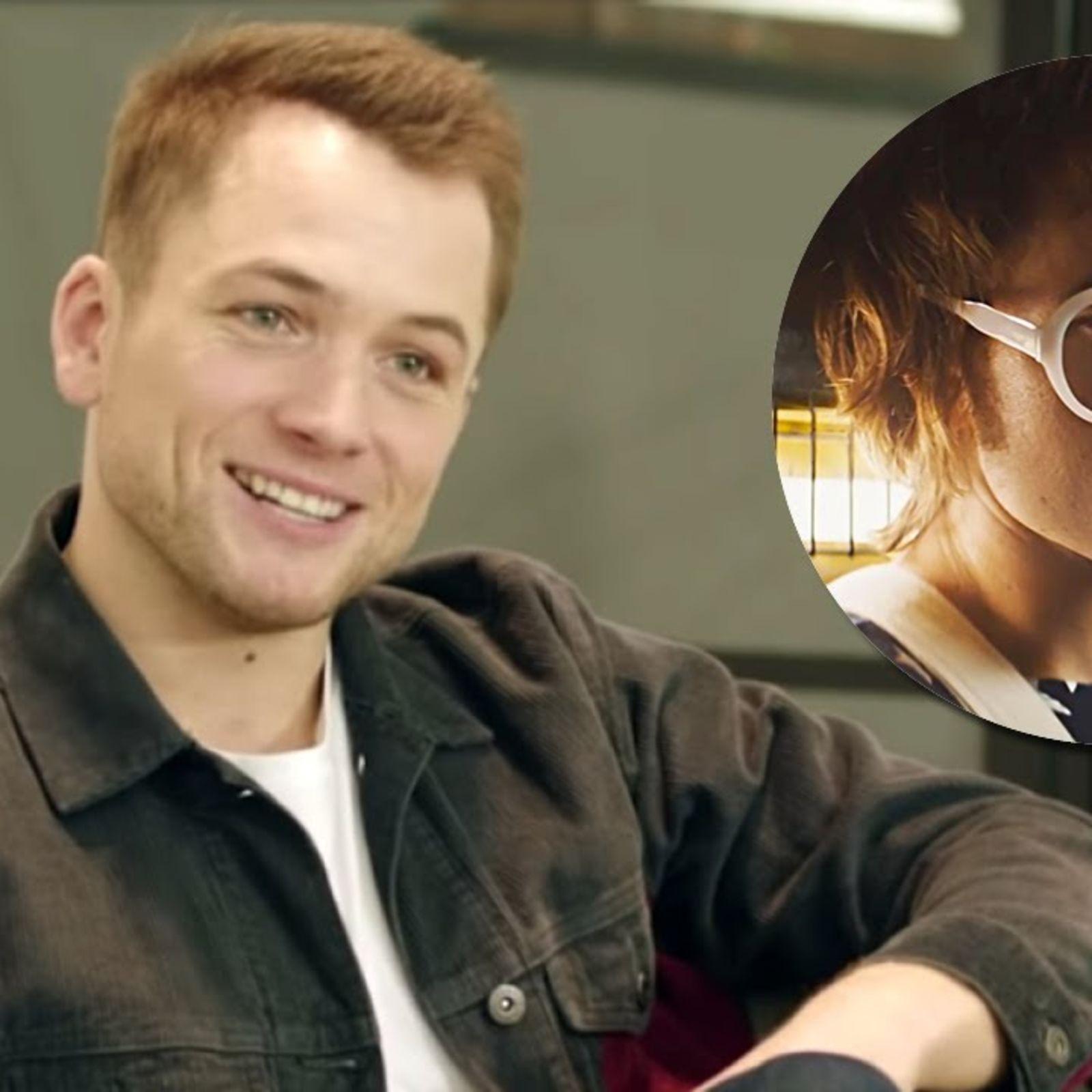 "Taron Egerton: ""Meeting Elton John for the first time was intimidating"""