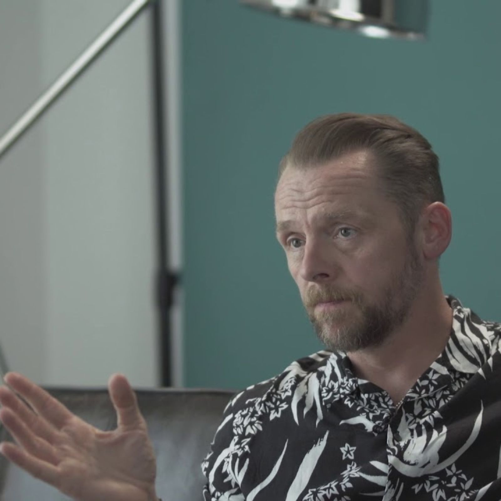 Simon Pegg plays Would You Rather?