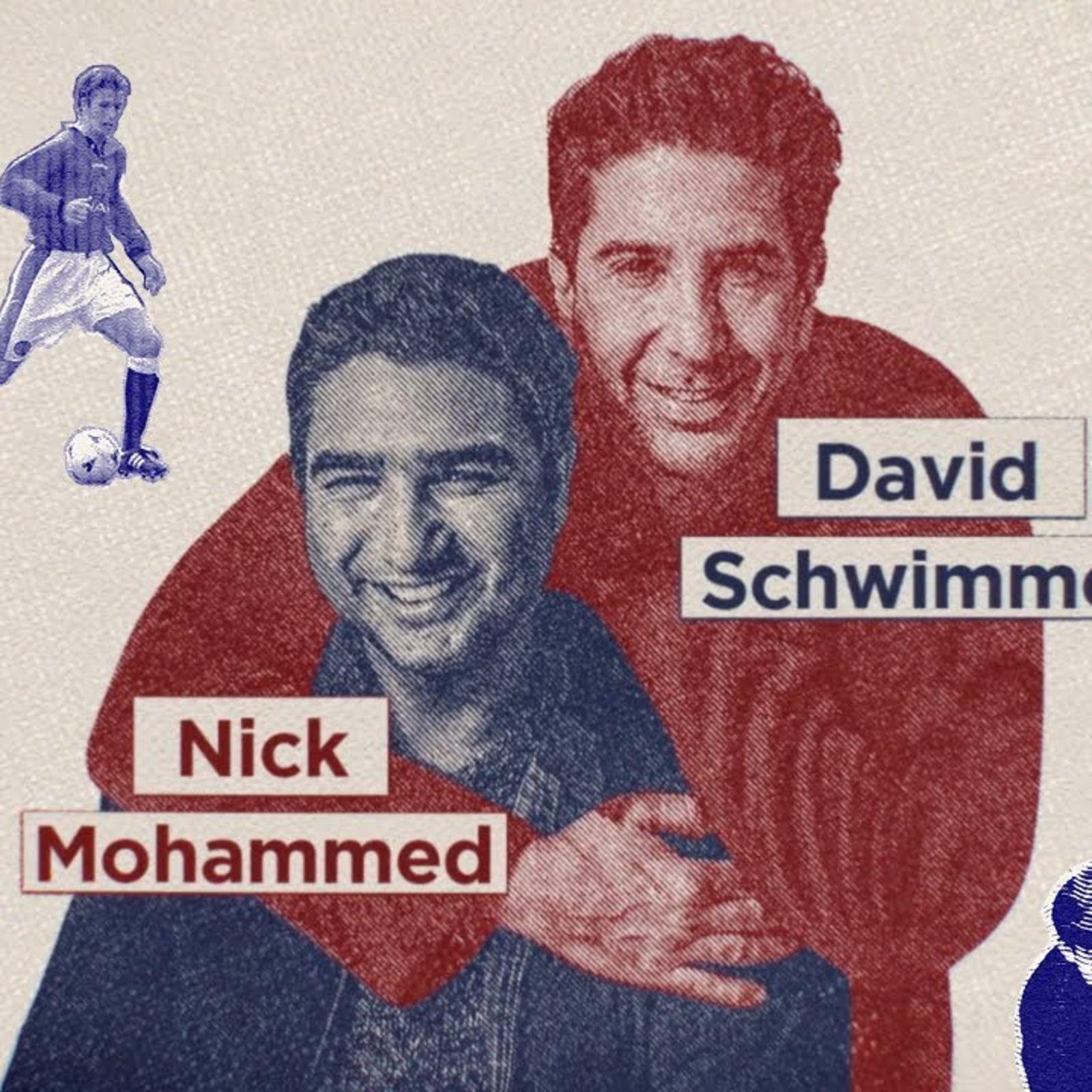 How British is David Schwimmer?