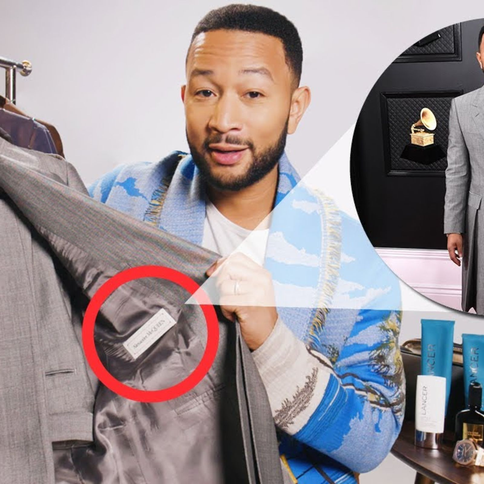 John Legend takes us inside his wardrobe