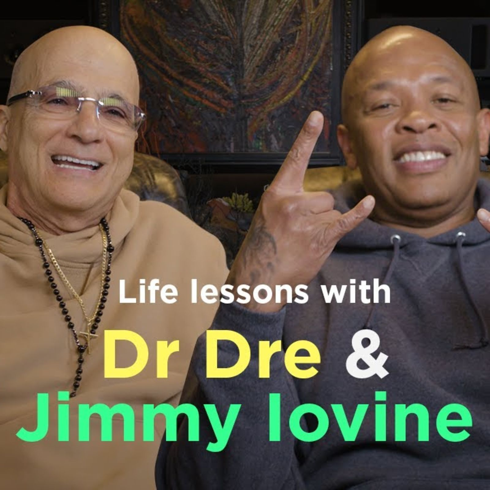 Dr Dre and Jimmy Iovine on their tips for success