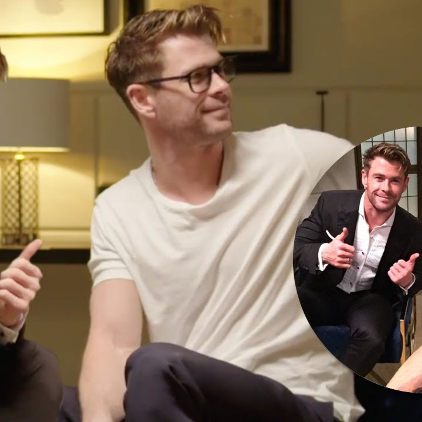 Chris Hemsworth interviews Chris Hemsworth about Chris Hemsworth