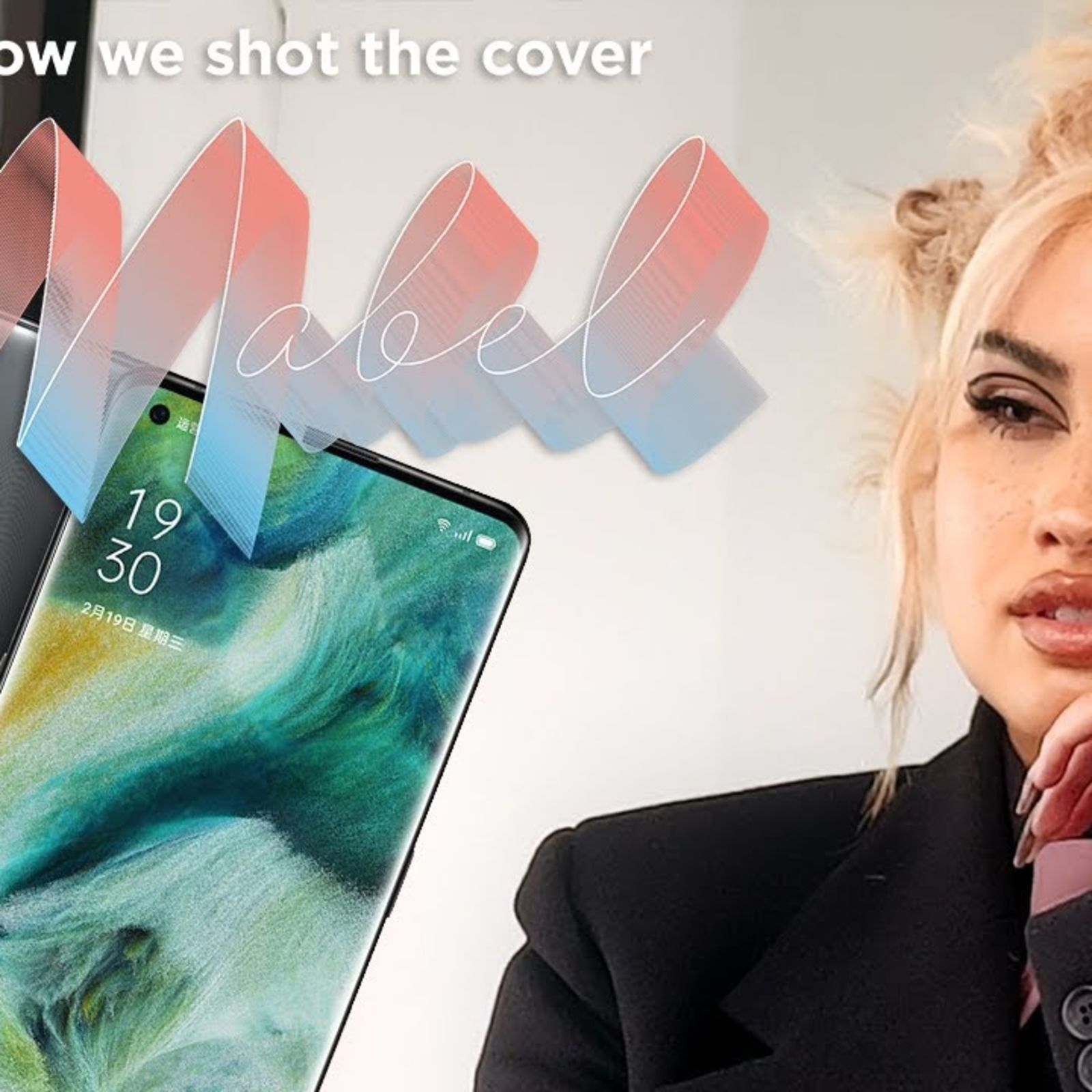 A pro photographer on the secrets of shooting cover star Mabel \| British GQ