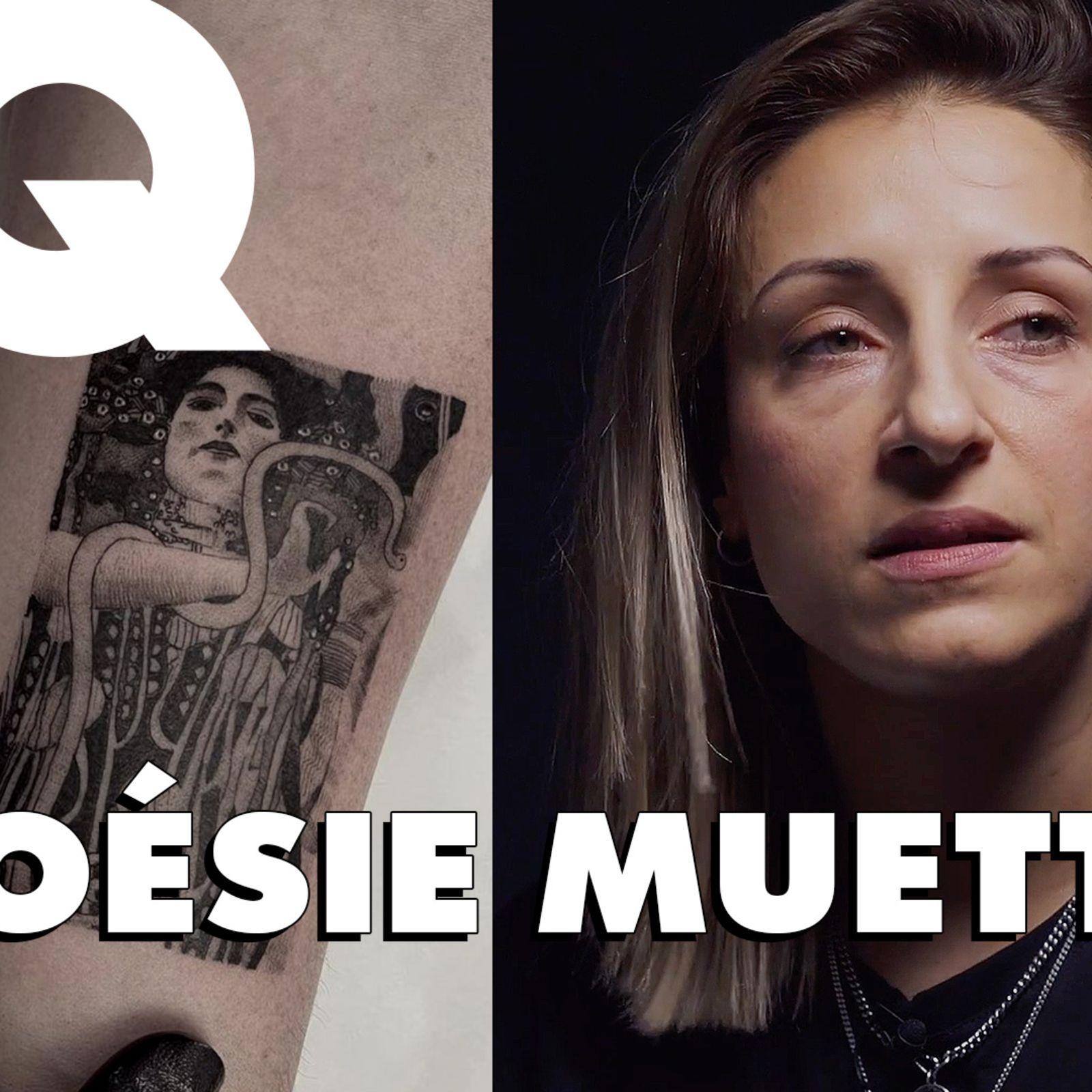 Poésie Muette, tatoueuse spécialisée dans le blackwork et le micro-réalisme, raconte le métier à GQ