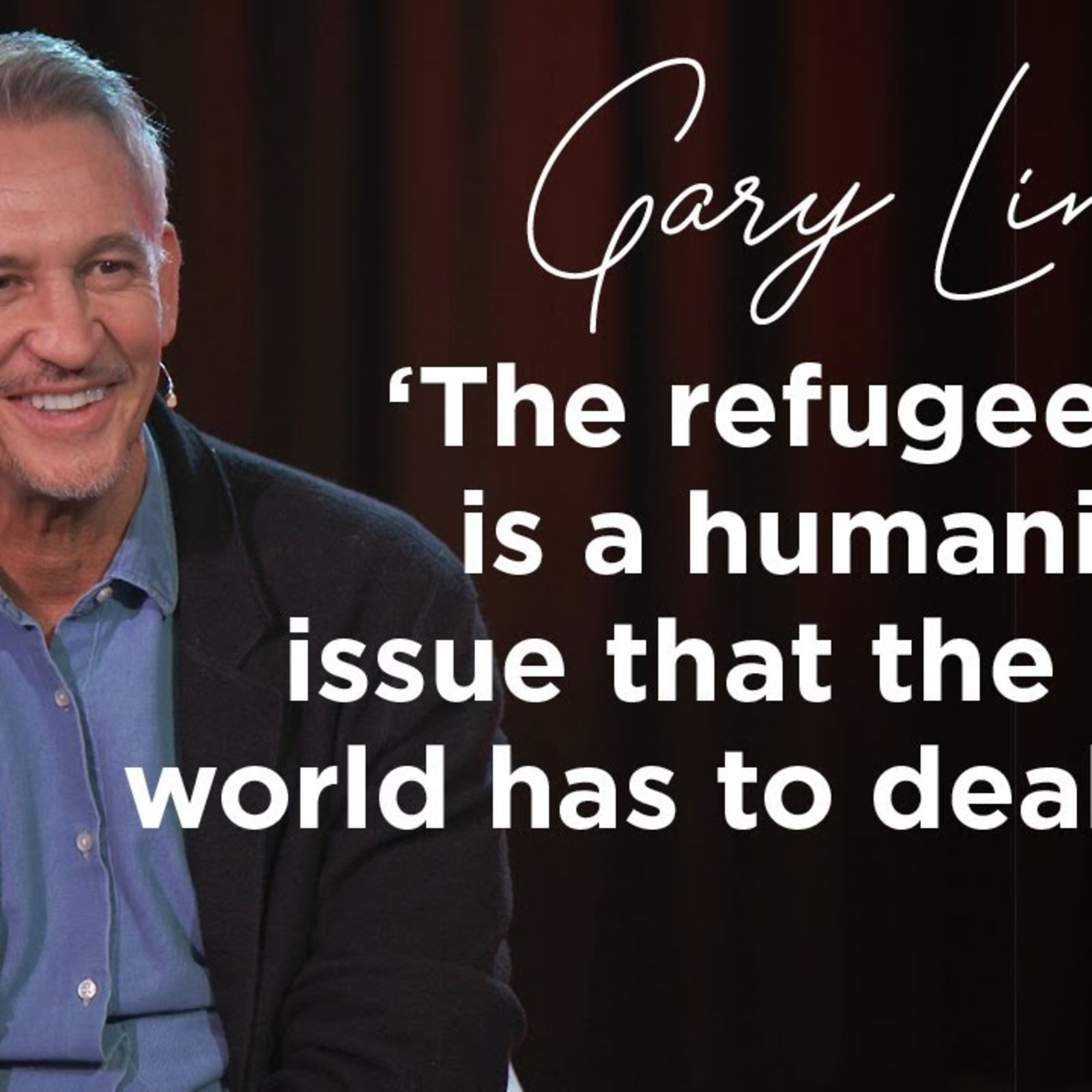 Gary Lineker on the BBC, Marcus Rashford and taking in a refugee