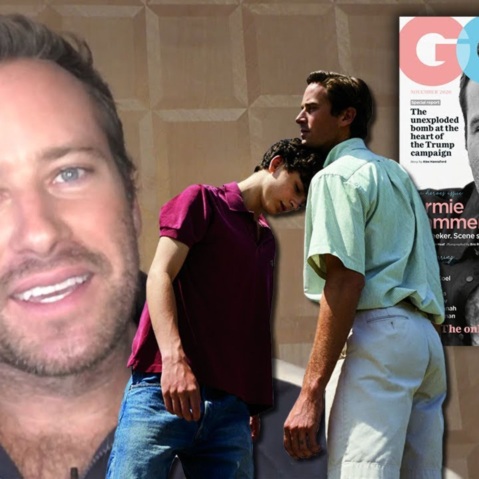 Armie Hammer: 'Peaches are now a part of my everyday life'