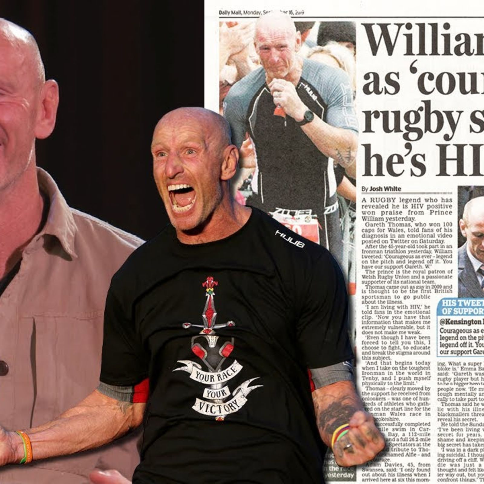 Gareth Thomas: 'Rugby is the worst and best thing that has happened to me'