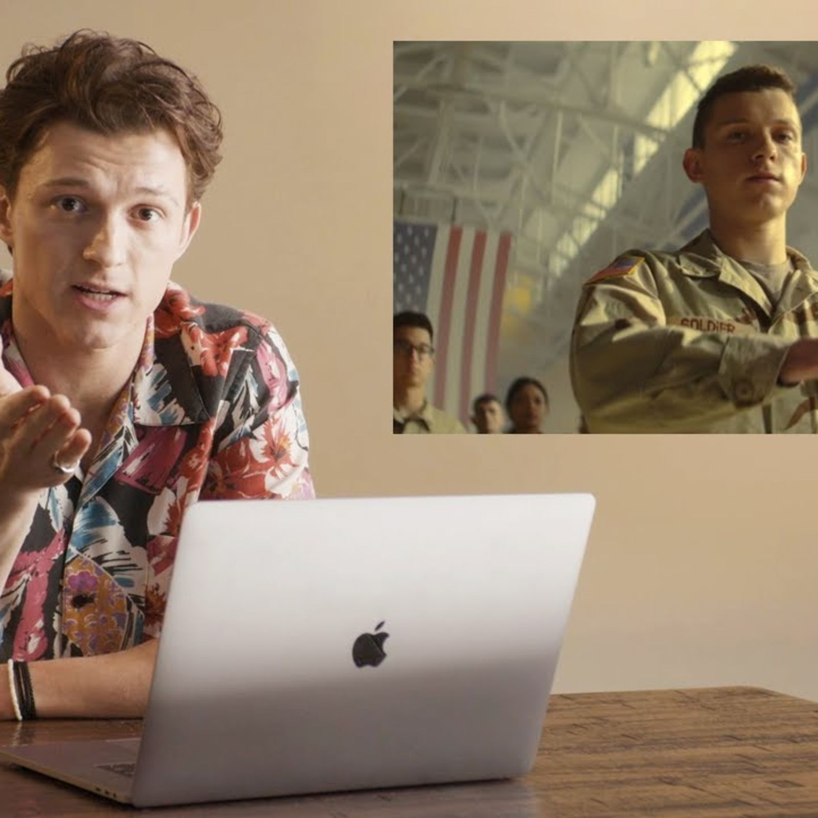 Tom Holland reacts to Cherry: 'I dislocated my ankle during filming'