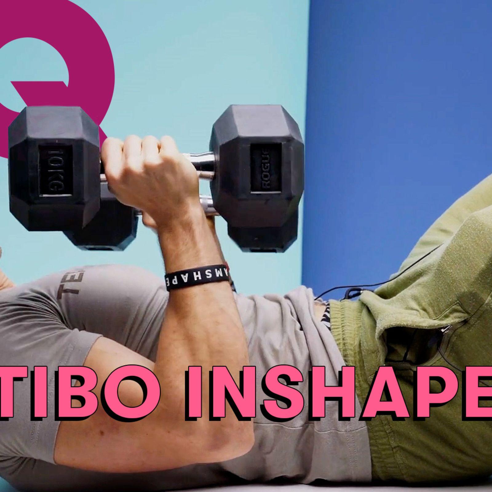Les 10 Essentiels de Tibo InShape (haltères, shaker de Whey et barres protéinées)