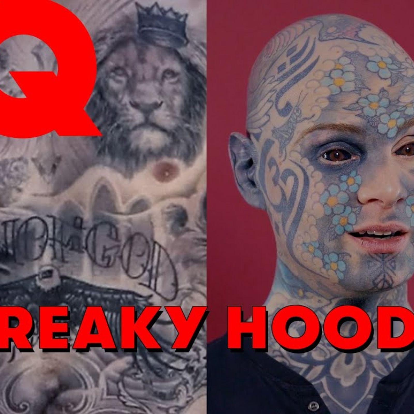 Freaky Hoody juge les tatouages des stars (Angelina Jolie, M. Pokora, Wiz Khalifa…)